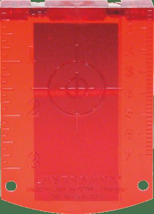 Laser target (red) Professional