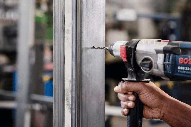 Bosch Professional HSS Spiralbohrer PointTeQ f/ür Metall, reduzierter Schaft, 15,5 x 120 x 178 mm, Zubeh/ör Bohrschrauber