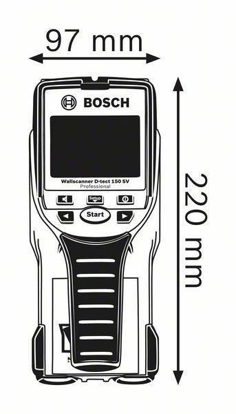 Scanner mural D-tect 150 SV