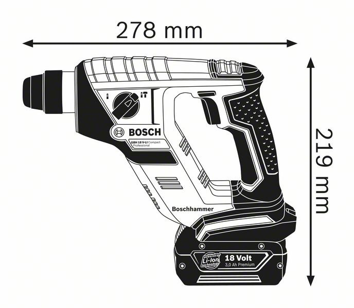 GBH 18 V-LI Compact