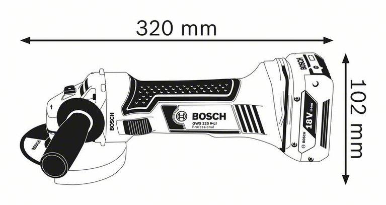 GWS 18-125 V-LI