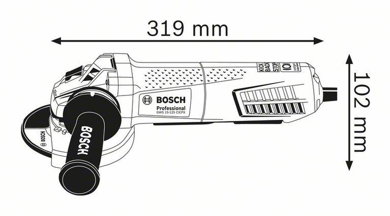 GWS 15-125 CIEPX