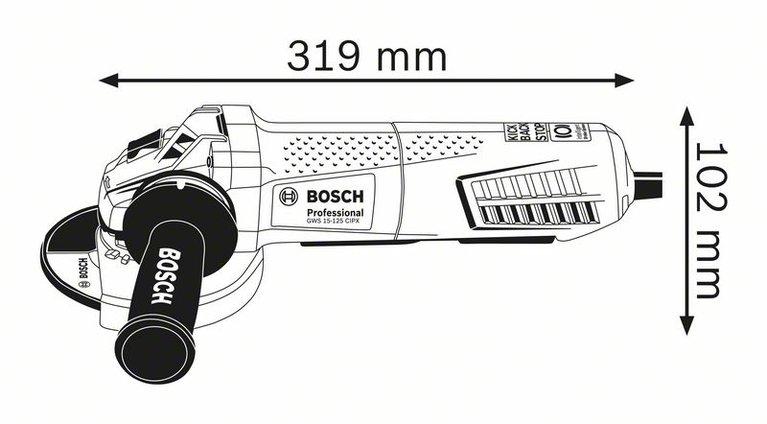 GWS 15-125 CIPX