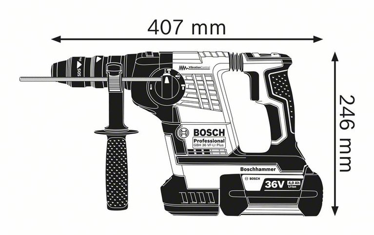 GBH 36 VF-LI Plus