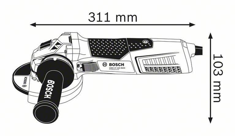 GWS 17-125 INOX