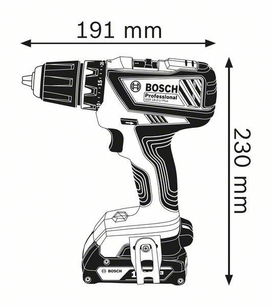 GSR 18-2-LI Plus