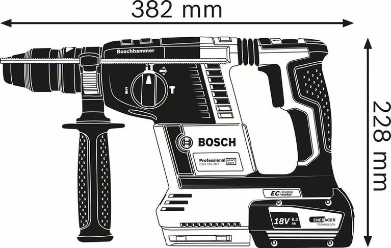 GBH 18V-26 F