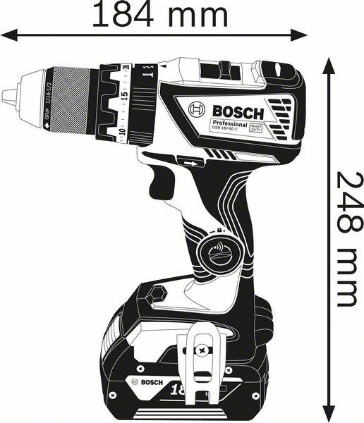 GSB 18V-60 C