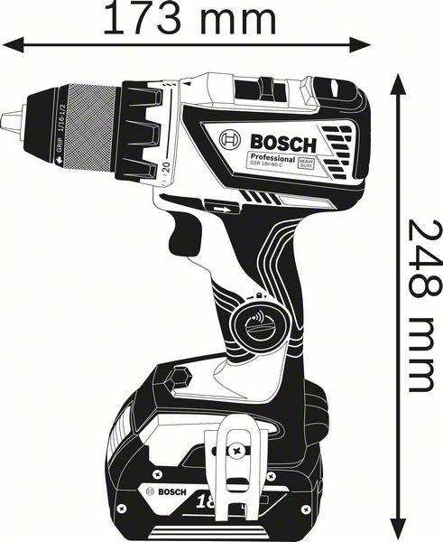 GSR 18V-60 C