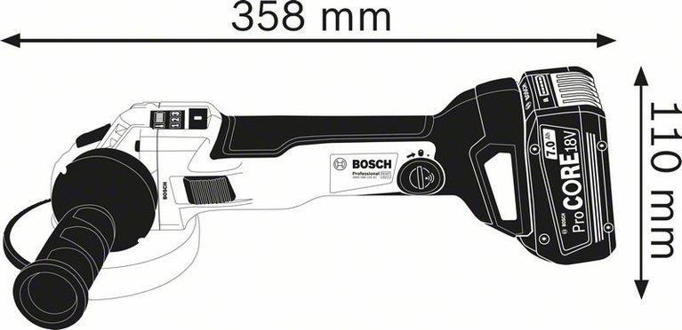 GWS de 18 V-125 SC