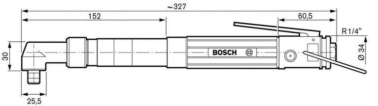 Winkelabschaltschrauber 180 Watt
