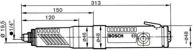 Atornilladoras rectas 400 W
