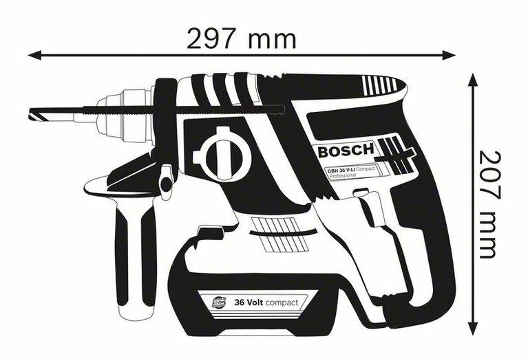 GBH 36 V-EC Compact (2.0 Ah)