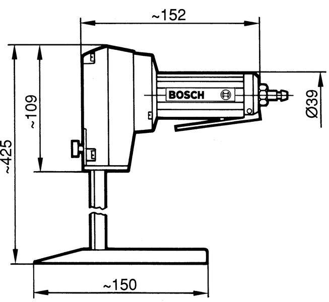 Druckluft-Schaumstoffsäge