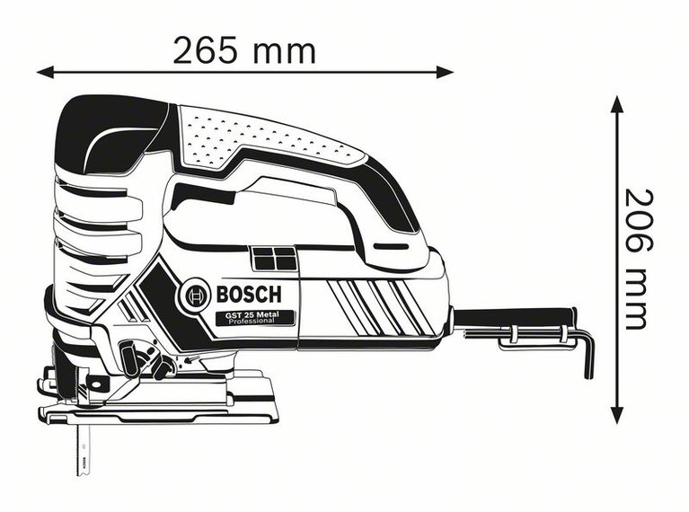 GST 25 Metal
