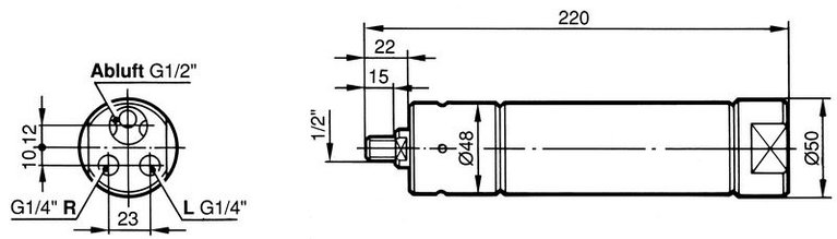 Built-in motor 620 Watt
