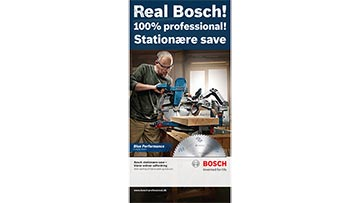 Bosch stationære save