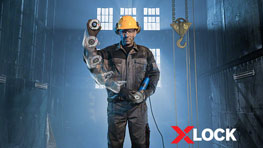 X-LOCK  The ultimate changing system for grinders | Bosch