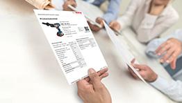 Ficha de datos del producto GST 160 BCE Professional