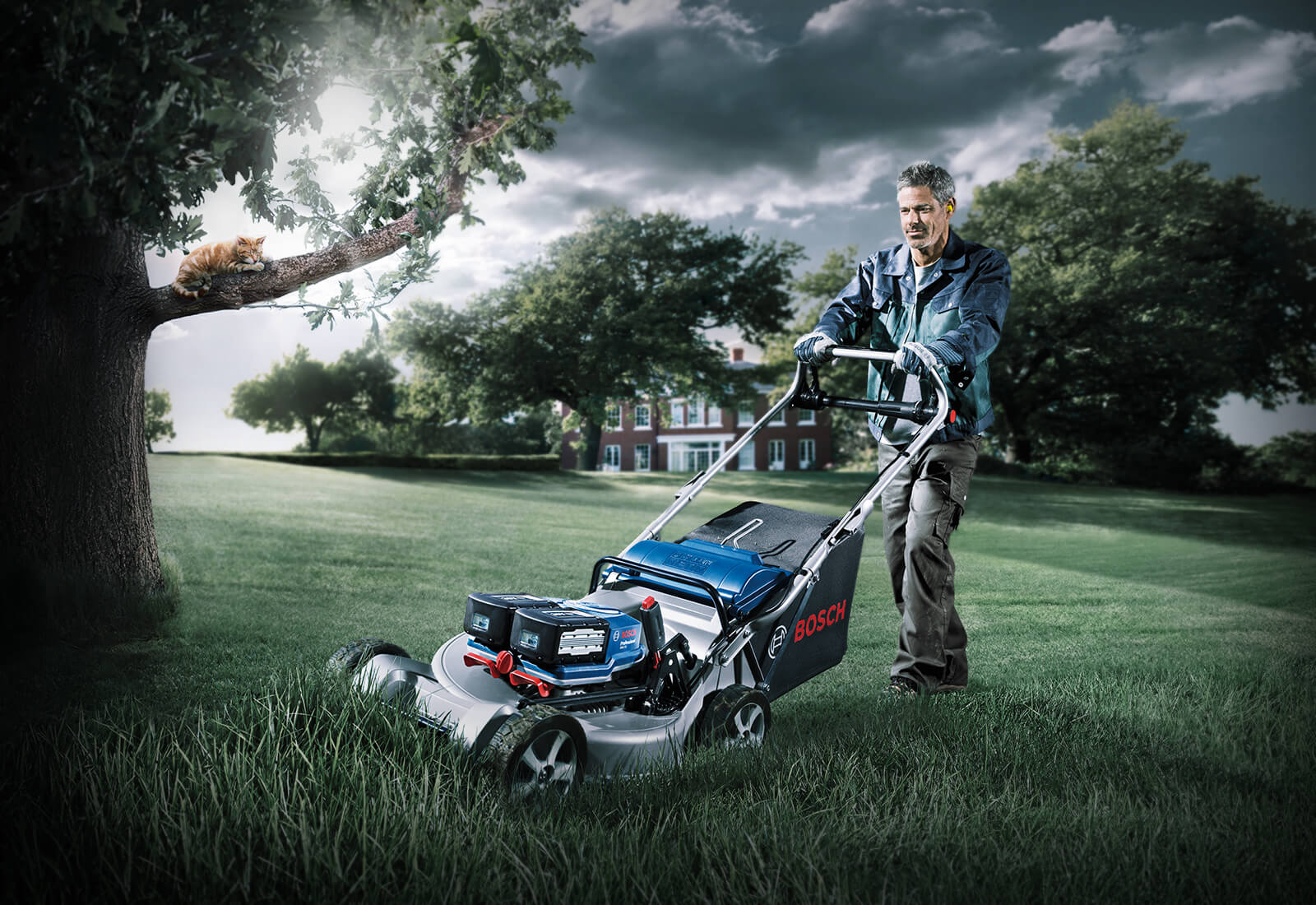 NEW! Professional cordless garden tools from Bosch Professional